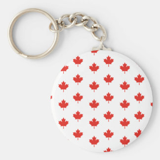 Maple Leaf Canada Emblem Country Nation Day Keychain