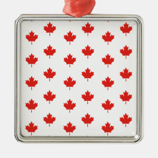 Maple Leaf Canada Emblem Country Nation Day Metal Ornament