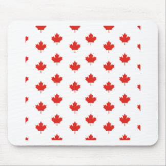 Maple Leaf Canada Emblem Country Nation Day Mouse Pad