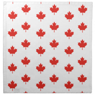 Maple Leaf Canada Emblem Country Nation Day Napkin