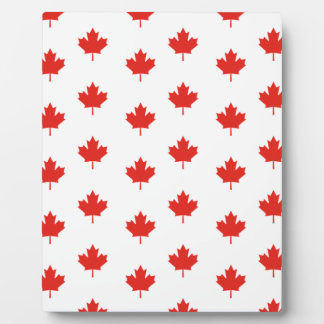 Maple Leaf Canada Emblem Country Nation Day Plaque