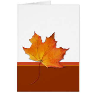 Maple Leaf Card