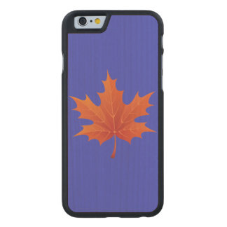 Maple Leaf Carved® Maple iPhone 6 Case