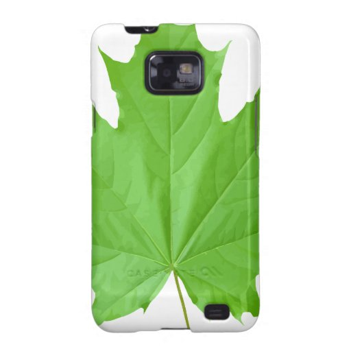 Maple Leaf Galaxy S2 Case
