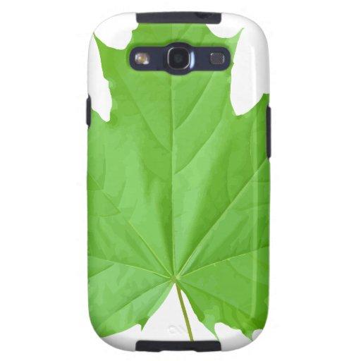 Maple Leaf Galaxy S3 Case