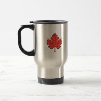 Maple Leaf Drawing Travel Mug