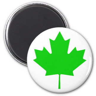 Maple Leaf Green Transp The MUSEUM Zazzle Gifts Fridge Magnets