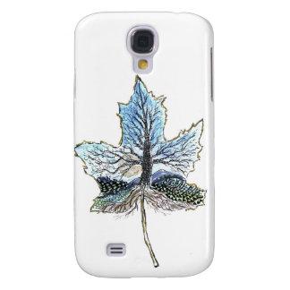 Maple Leaf Landscape - Pen & Ink Design