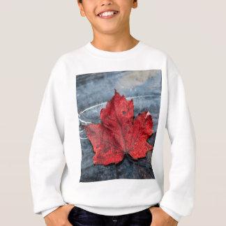 Maple leaf on ice sweatshirt