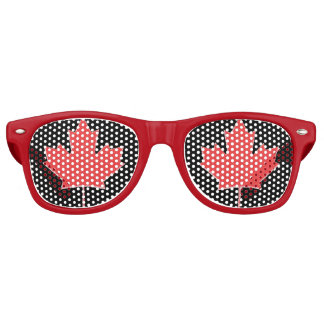 Maple Leaf Party Shades