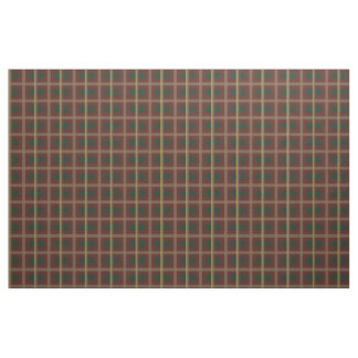 Maple Leaf Tartan Fabric