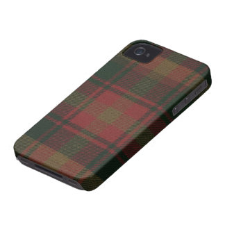 Maple Leaf Tartan iPhone 4/4S BARELY THERE Case