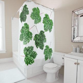Maple Leaf Tropical Cali Green Botanical White