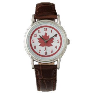 Maple Leaf Watch