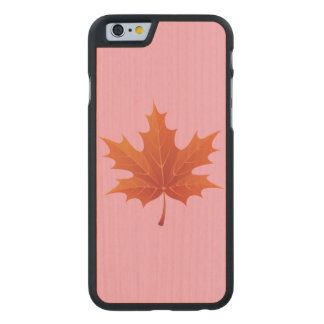 Maple Leaf Carved® Maple iPhone 6 Slim Case