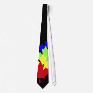 Maple Leaves - Canada Tie