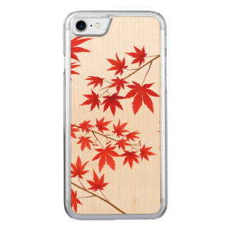 Maple Leaves Carved iPhone 8/7 Case