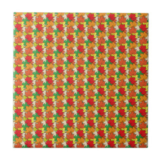 Maple leaves I Ceramic Tiles
