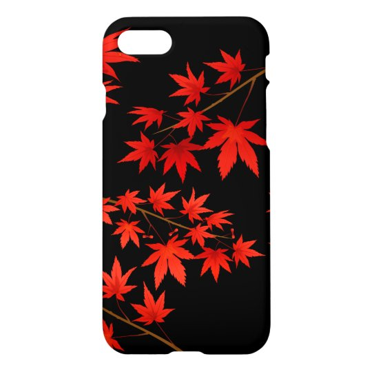 Maple Leaves iPhone 7 Case