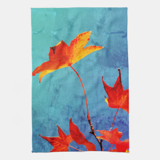 Maple Leaves Kitchen Towel