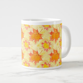 Maple Leaves Large Coffee Mug