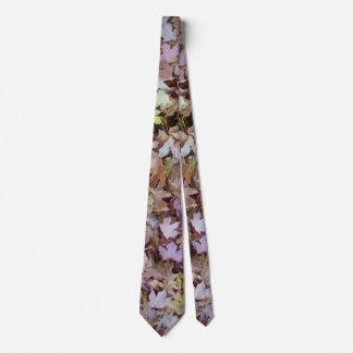 Maple Leaves of Autumn Tie