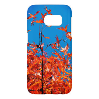 Maple Leaves Samsung Galaxy S7 Case
