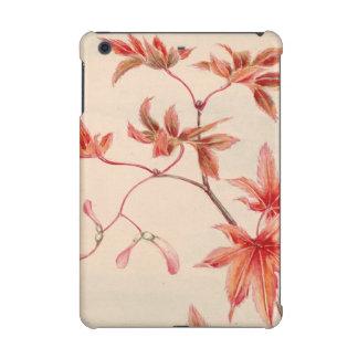 Maple leaves (Vintage Japanese print) iPad Mini Cover