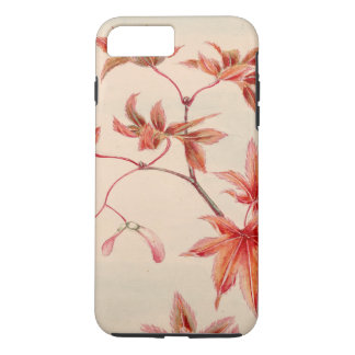 Maple leaves (Vintage Japanese print) iPhone 8 Plus/7 Plus Case