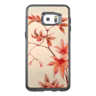 Maple leaves (Vintage Japanese print) OtterBox Samsung Galaxy S6 Edge Plus Case