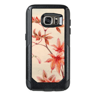 Maple leaves (Vintage Japanese print) OtterBox Samsung Galaxy S7 Case
