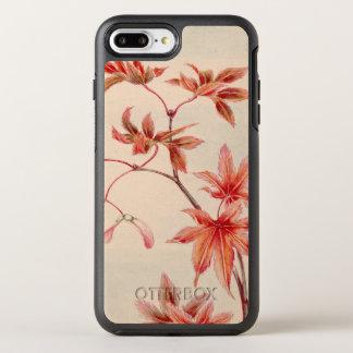 Maple leaves (Vintage Japanese print) OtterBox Symmetry iPhone 8 Plus/7 Plus Case