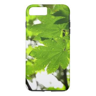 Maple Leaves with Raindrops iPhone 8 Plus/7 Plus Case