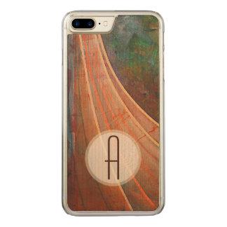 Maple Monogram Carved iPhone 8 Plus/7 Plus Case