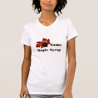 Maple Syrup Ladies T-shirt