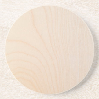 Maple timber texture beverage coasters