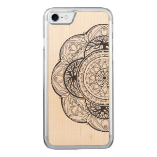 Maple Wood Mandala for iPhone 6/6s Carved iPhone 7 Case
