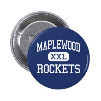 Maplewood - Rockets - High School - Cortland Ohio 2 Inch Round Button