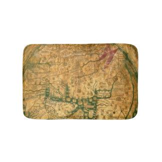 Mappa Mundi, c.1290 Bath Mat