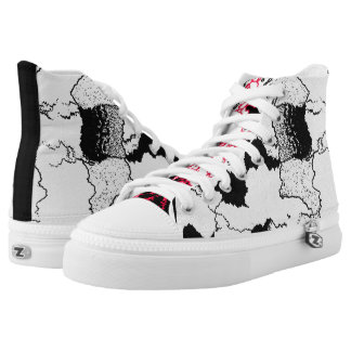 Mapped High Tops