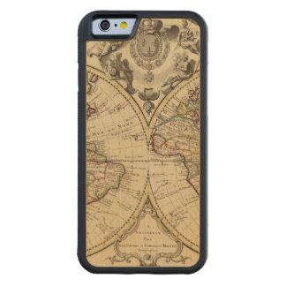 Mappemonde Carved Maple iPhone 6 Bumper Case