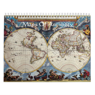Maps Of Antiquity Wall Calendars