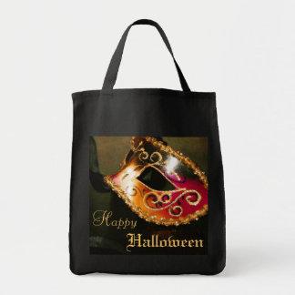 Maquerade Mask Elegant Halloween Treat Tote Bag