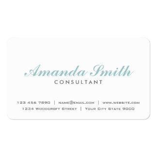 Maquilleur blanc simple professionnel élégant carte de visite standard