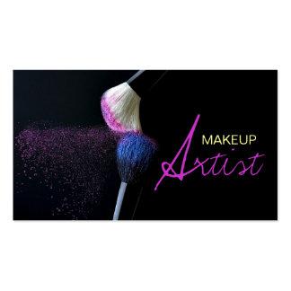 Maquilleur, cosmétologie, carte de visite de salon