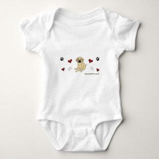 mar102015Puggle.gif Baby Bodysuit