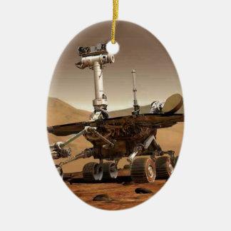 Mar rover space design ceramic ornament