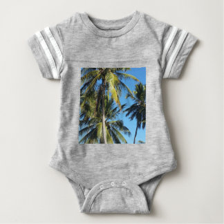 Maragogi palms baby bodysuit