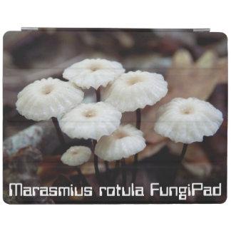 Marasmius rotula FungiPad Cover iPad Cover