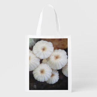 Marasmius rotula Mushroom Reusable Bag